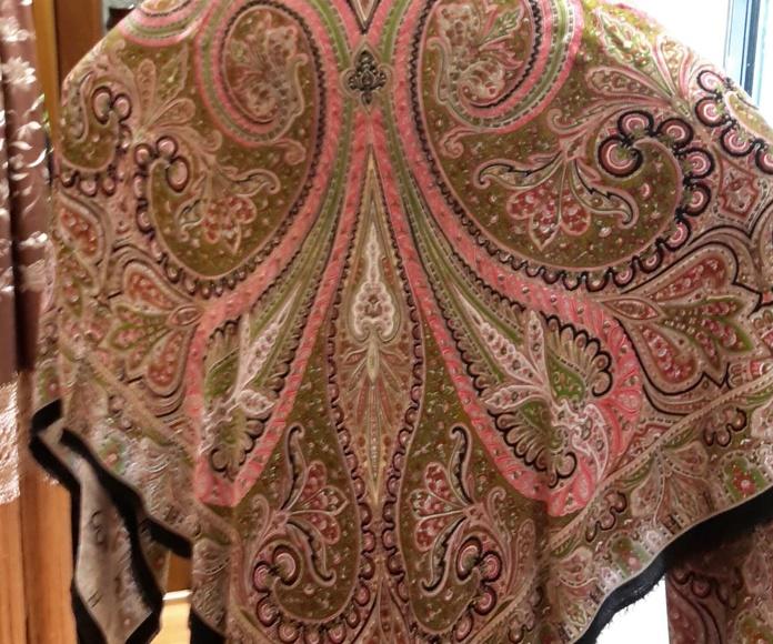 mantones de lana y fibrana