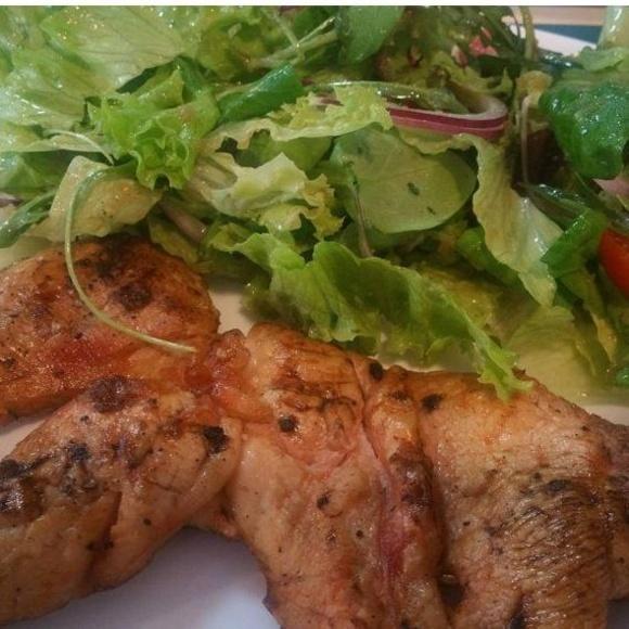 Pechuga a la leña : Nuestros platos  de Restaurante La Ksona