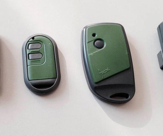 Mandos a distancia: Servicios de Automatismos El Berrón