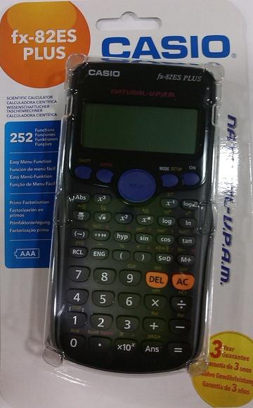CALCULADORA CIENTÍFICA CASIO FX-82ES PLUS: Productos y servicios de Papelería Formatos