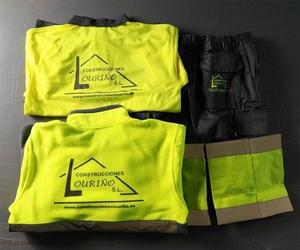 Personalización de ropa de trabajo en Pontevedra