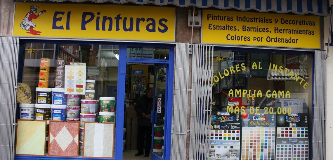 Tienda de pinturas de referencia en Ventas, Madrid,