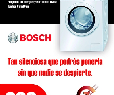 Oferta lavadora Bosch EcoSilence