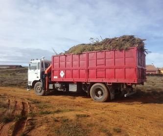 Triturado: Productos y servicios de Servicios Forestales FsV