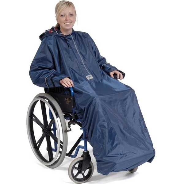 Chubasquero acolchado para sillas de ruedas