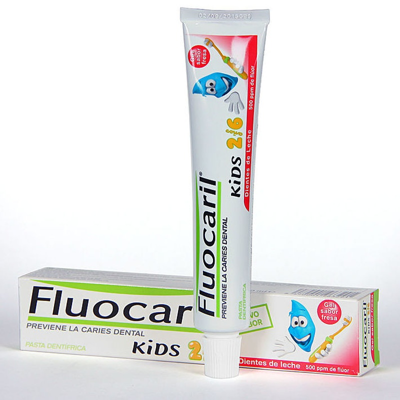 FLUOCARIL KIDS GEL FRESA 2-6 AÑOS 50ML: Productos y Servicios de Farmacia-Ortopedia Can Parellada