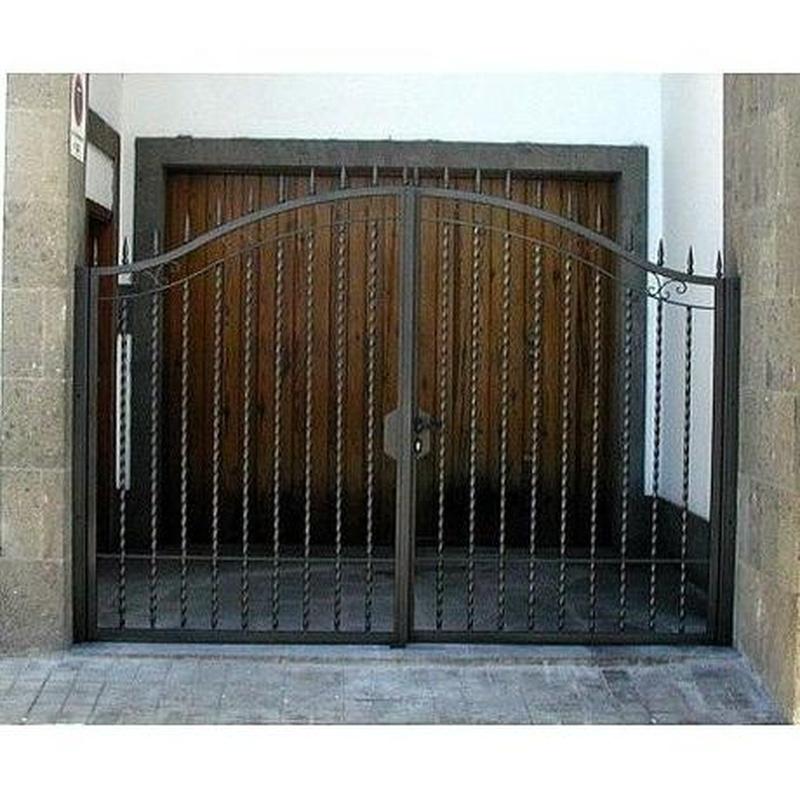 Puertas: Productos y servicios de Industria Herremetálica