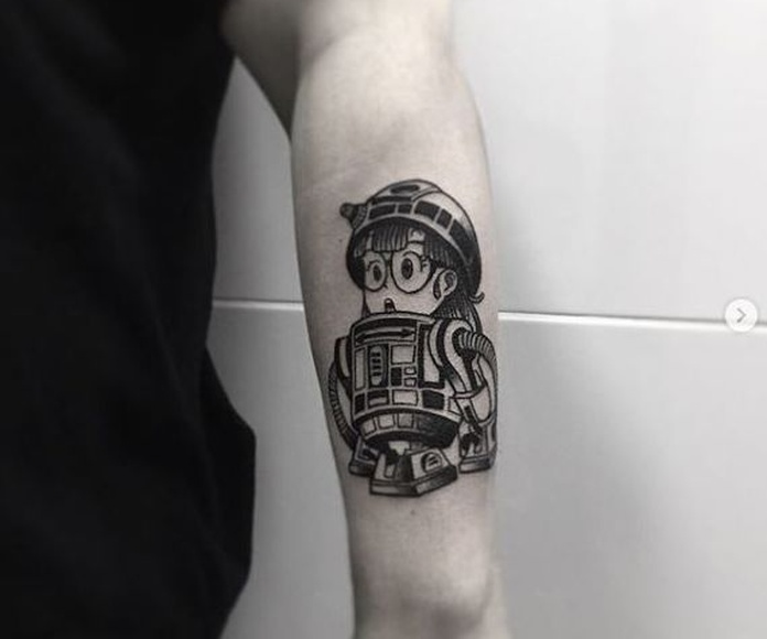 Blackwork: Tatuajes y barber shop de 213 INK & The Barbershop