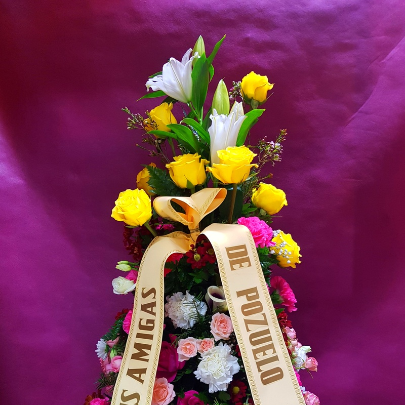 Almohadones funerarios: Servicios  de Ixora Floristas