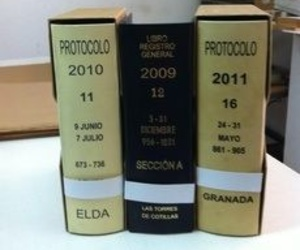 ENCUADERNACION PROTOCOLO Y LIBRO REGISTRO GENERAL