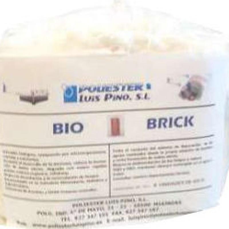 Material Biológico: Servicios y Productos of Poliéster Luis Pino