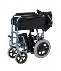 Silla de ruedas de aluminio plegable Mini Transfer