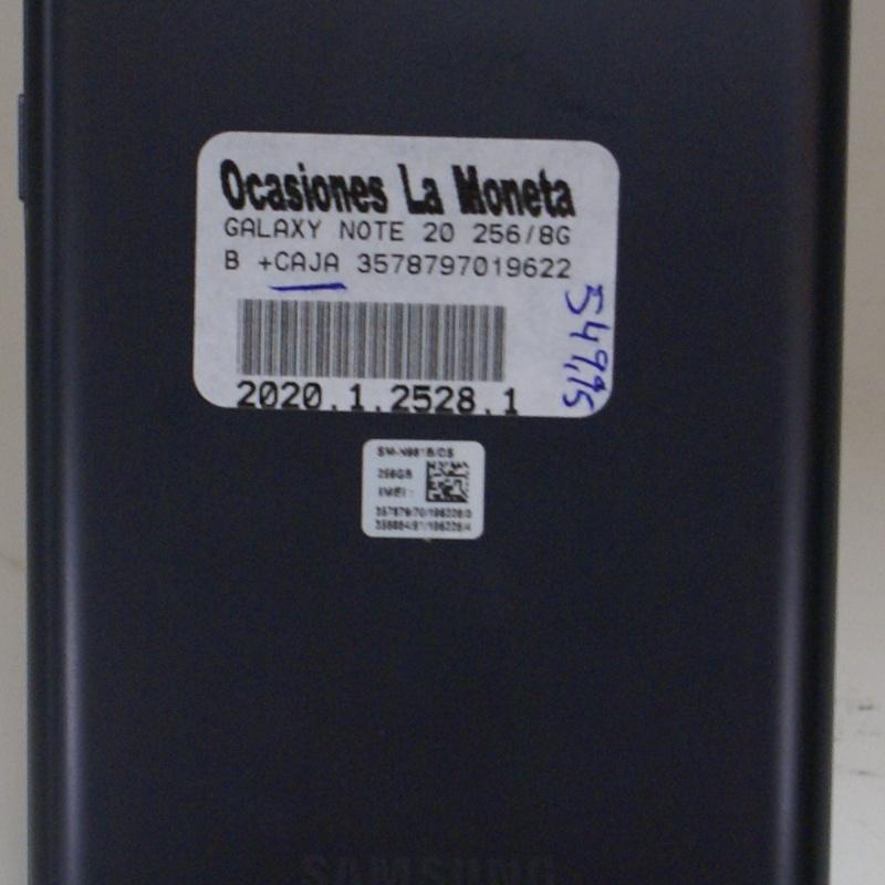 SAMSUNG NOTE 20 5G: Catalogo de Ocasiones La Moneta
