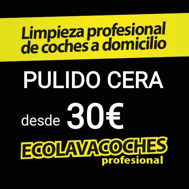 Añade al servicio Exterior Pulido Cera Carnauba 30€ Dirección Día Hora: Servicios y tarifas de Ecolavacoches Profesional