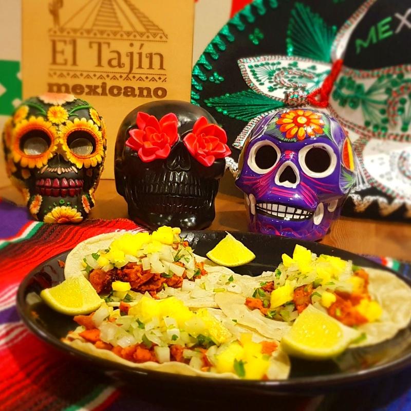 Tacos (3 uds. por orden): Carta de El Tajín Mexicano