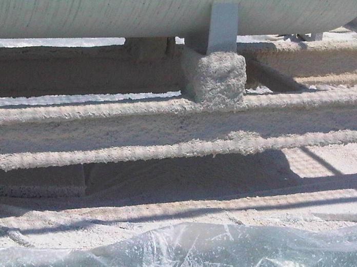 estructura con vermiculita