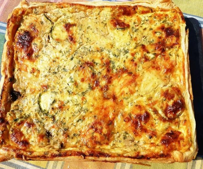 """Quiché """"Francés"""": Carta de Pizzeria Fralisani"""
