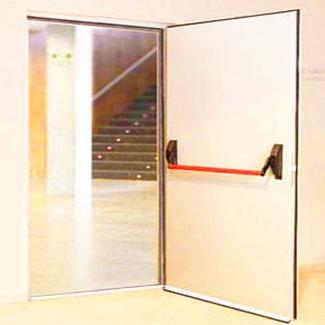 Puerta cortafuegos batiente acústica insonorizada