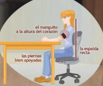 TOMARSE LA TENSION ARTERIAL EN CASA