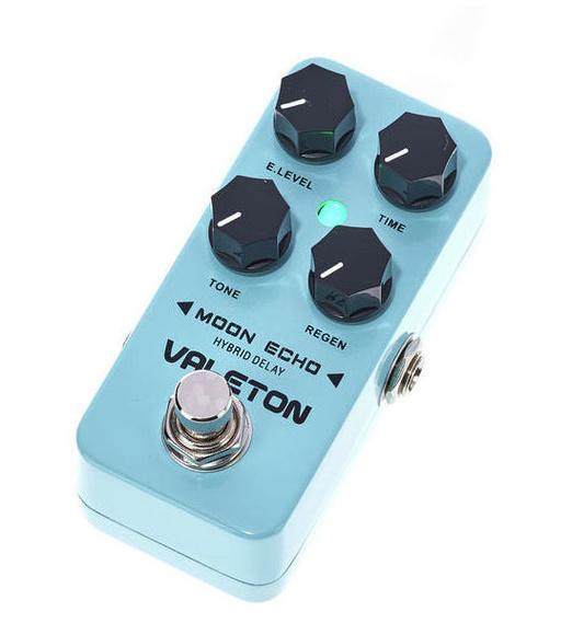 Pedal de Delay analógico Valeton Moon Echo para guitarra y bajo eléctricos
