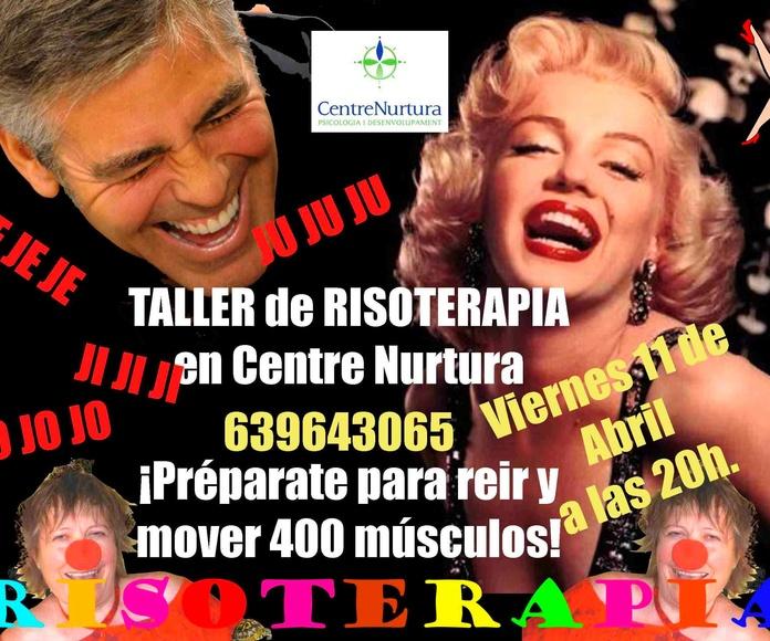 TALLER DE RISOTERAPIA muy PRIMAVERAL