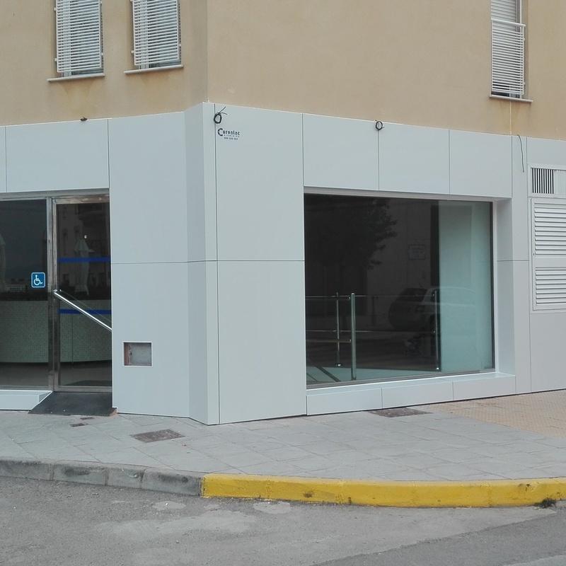 Fachadas ventiladas: Productos y servicios de Aluminios Curvalac SL