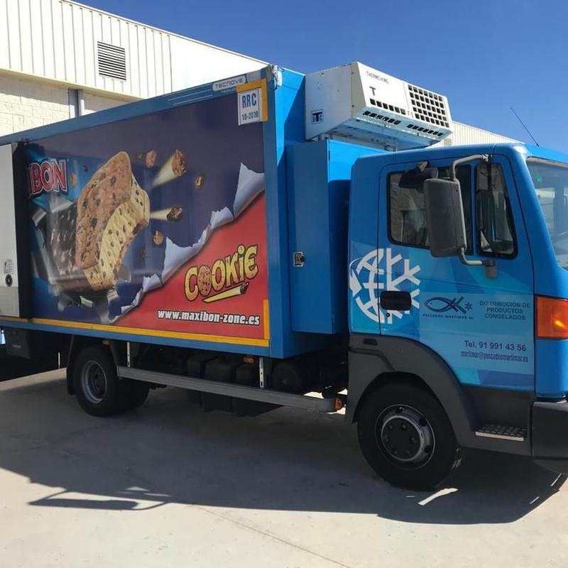 Camión de congelados:  de MAQUIMUR