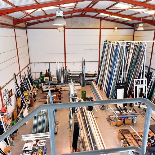Carpintería de aluminio en general