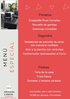 Restaurante Somallao Rivas Menú Especial 4 al 10 de Agosto de 2021
