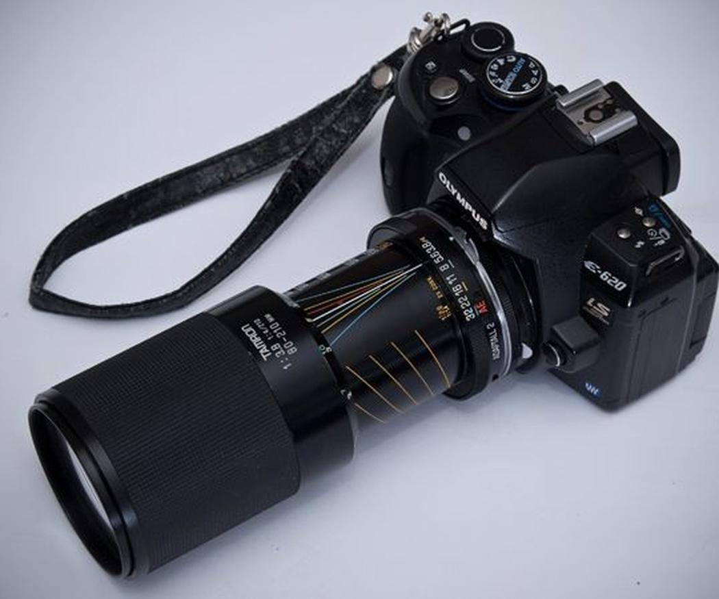 Los objetivos de las cámaras