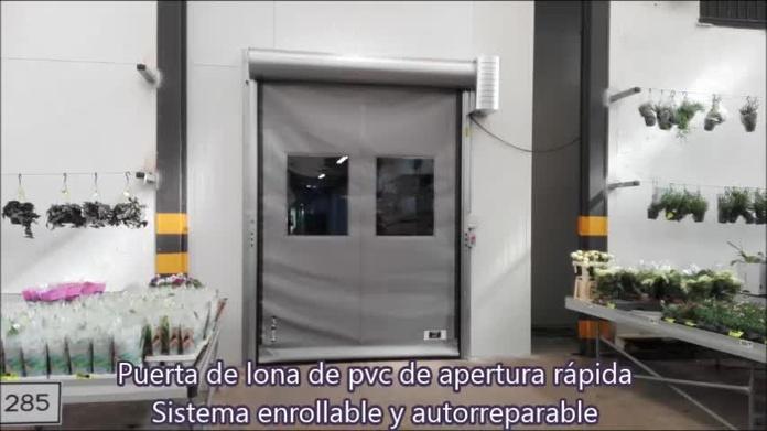 Puerta rápida de lona enrollable autorreparable Farem auto full en Silla Valencia