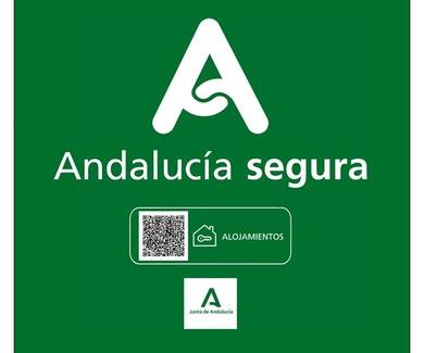 """Distintivo de """"Andalucía segura"""""""