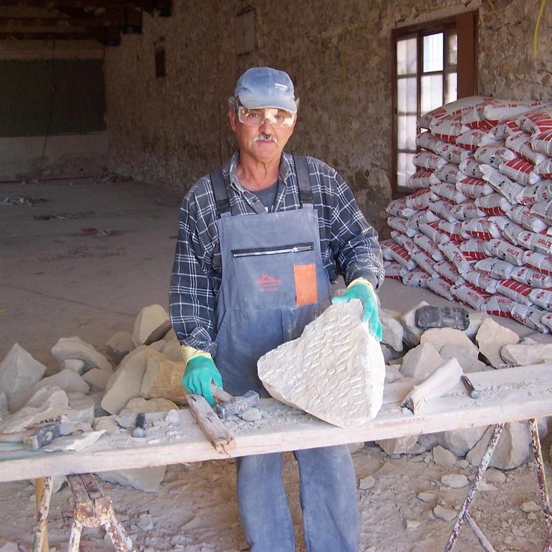 Nuestros Trabajadores Profesionales en Canteria y Mamposteria: Trabajos de La Almaina