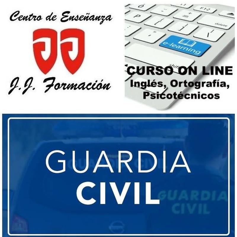 Curso online oposición de Guardia Civil: Cursos de Centro de Enseñanza J. J. Formación