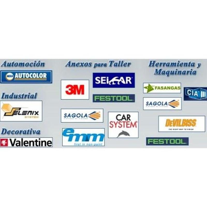 Nuestras marcas: Productos y Servicios de Carman Pinturas