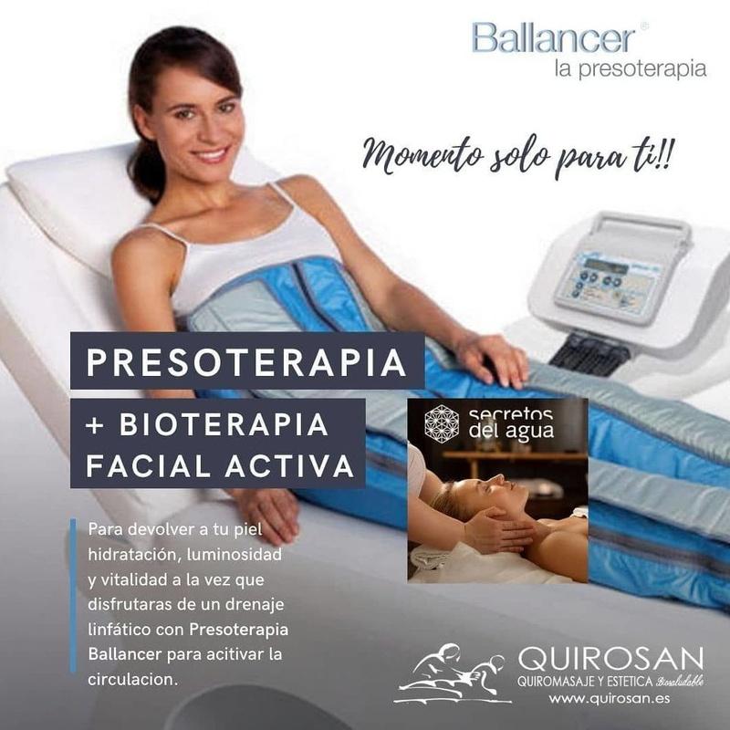 Facial + Presoterapia : Servicios de Quirosan