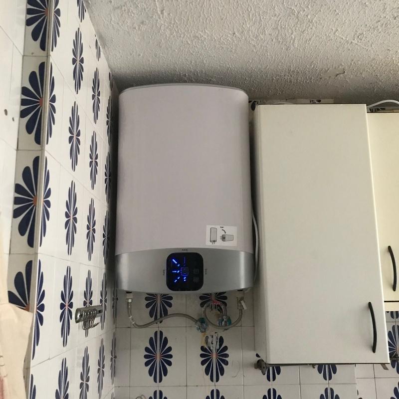Sustitución de calderas y calentadores: Servicios de Isangas