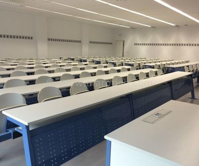 Instalación Aulas Parque Científico Linares - Universidad de Jaén