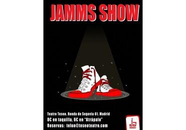 Espectáculo de Impro de la Escuela Jamming en Arganzuela