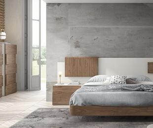 Dormitorio matrimonio de estilo contemporáneo