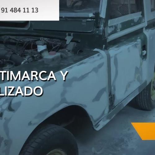 Taller de chapa y pintura en Alcobendas   Nascar Auto