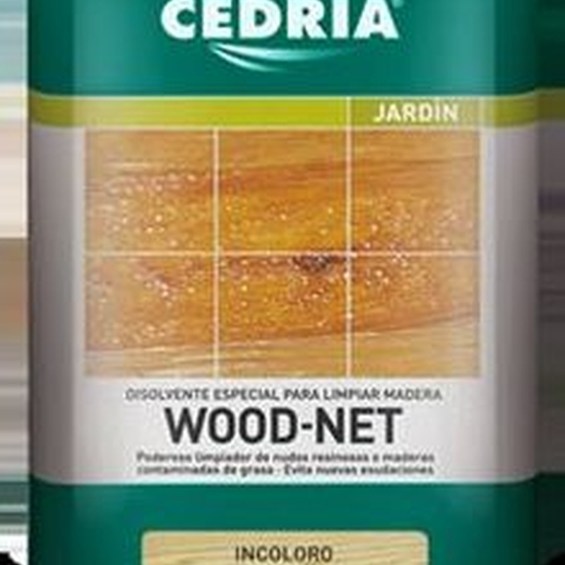 Disolvente WOOD NET CEDRIA en tienda de pinturas en ciudad lineal.