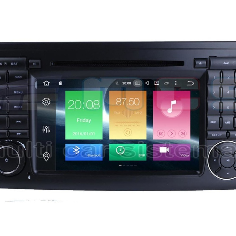 RADIO GPS PANTALLA TACTIL ANDROID MERCEDES ML W164 GL X164