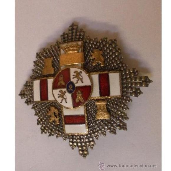 Placa Extraordinaria al Mérito Militar distintivo blanco: Catálogo de Antiga Compra-Venta