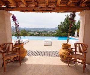 Casas con piscina en Ibiza