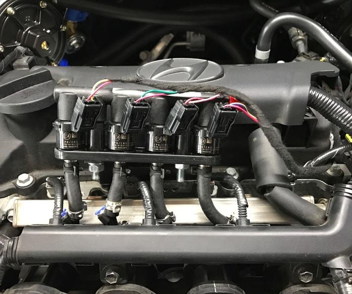 Rampa inyectores GLP Prins Hyundai