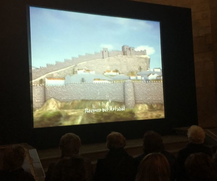 Recracion Virtual Castillo Montefrio época Nazarí