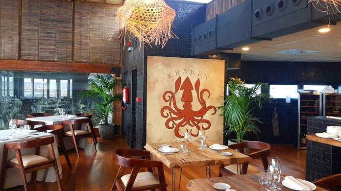 Cafetería Kraken del Acuario de Gijón