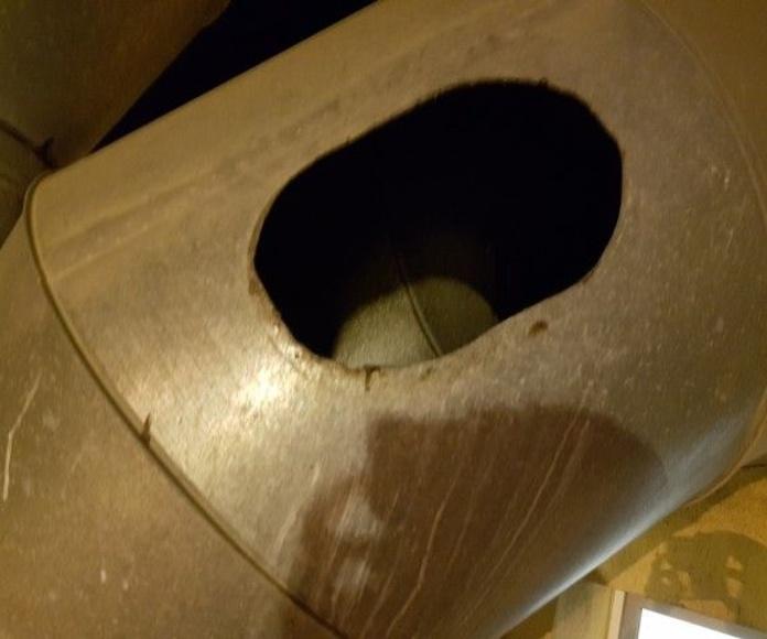 Limpieza y deshollinado de chimeneas: Servicios de Control Air