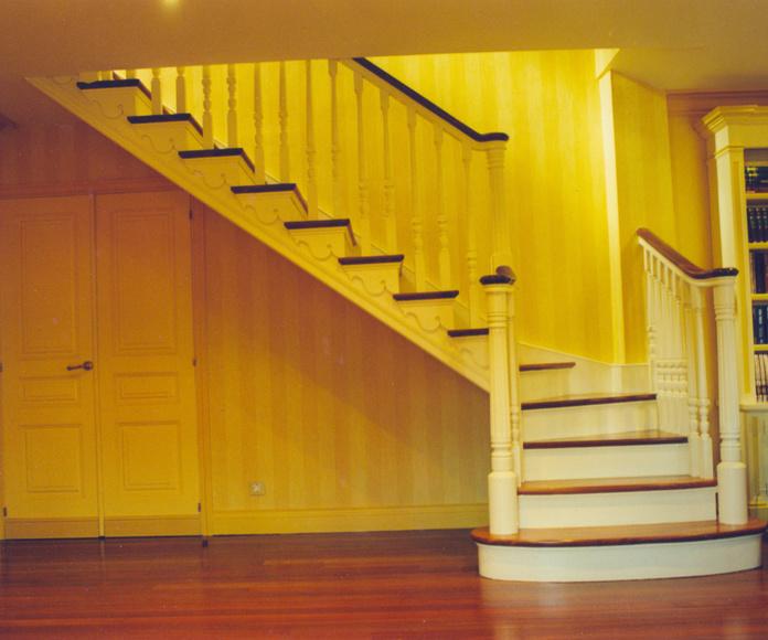 Escaleras de madera en Bizkaia: PRODUCTOS de CARPINTERIA MAZUSTEGUI S.L
